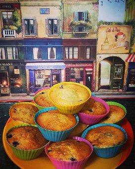 Cake, Food, Muffin, Cupcake, Homemade, Bakery
