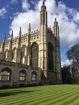 Kings College, Cambridge, England, Uk, University