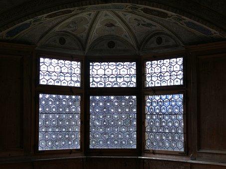 Window, Castle Windows, Bay Window, Glass, Architecture