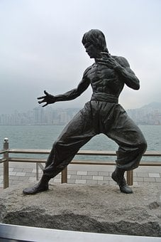 Bruce Lee, Hong Kong, Statue, Actor, Celebrity, Bruce