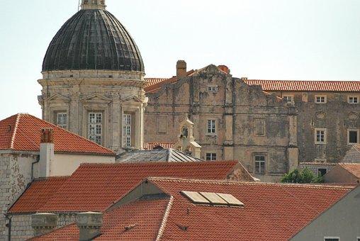 Dubrovnik, Croatia, Mediterranean, Adriatic, Church