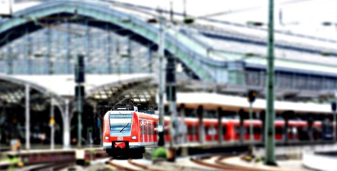 Cologne, Central Station, Railway Station, Train