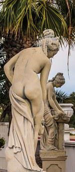 Cyprus, Ayia Napa, Water World, Aphrodite, Sculptures