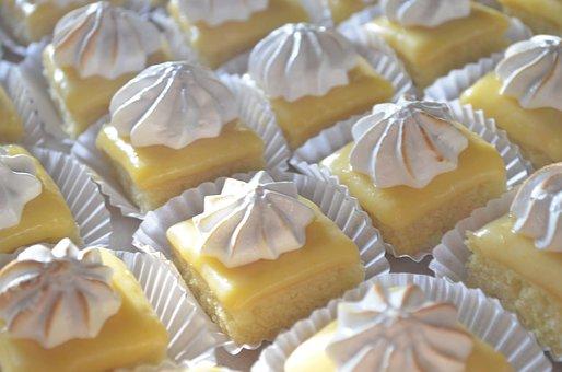 Sweets, Lemon, Cake, Dessert, Bakery