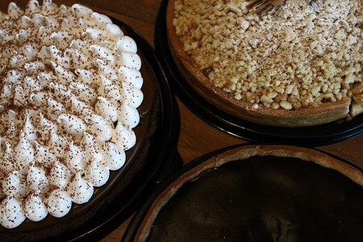 Pie, Cake, Chocolate, Cookie, Dessert, Tasty, Bakery
