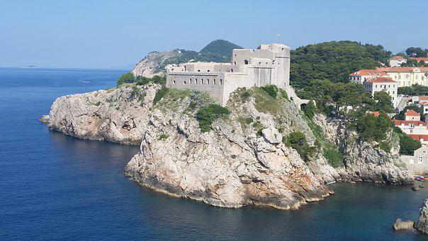 Croatia, Old Town, Dubrovnik, Architecture, Holiday