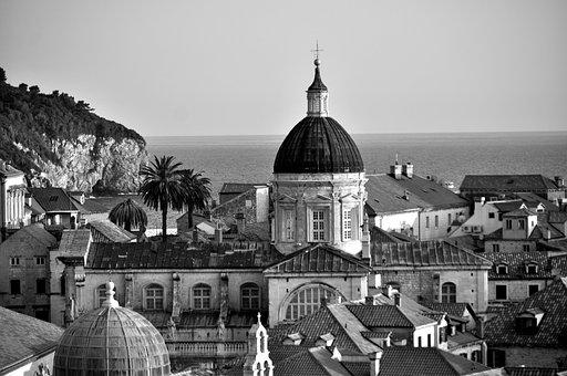 Dubrovnik, Croatia, Old Town, Roofs, Europe
