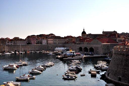 Old Harbour, Dubrovnik, Croatia, Old Town