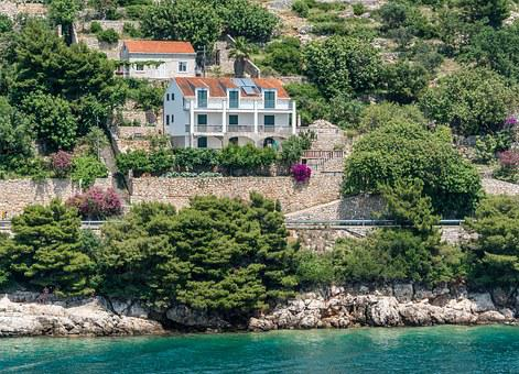 Croatia, Dubrovnik, Architecture, Europe, Flowers, City