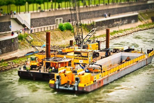 Dredgers, Excavators, Pebble, Excavator Buckets