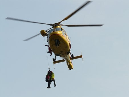 Helicopter, Rescue, First Aid, Mountain Rescue, Fly
