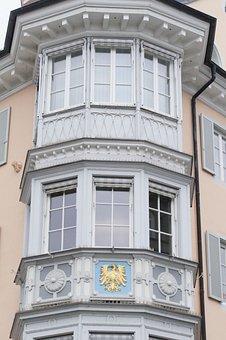 Bay Window, Goldener Adler, Historically, House