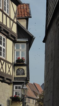 Truss, Home, Fachwerkhaus, Old Town, Window