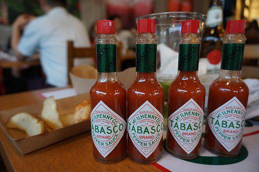 Tabasco, Hot, Spicy, Dip, Chili, Tomato, Bottle, Source