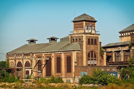 Architecture, Factory, Old Factory, Industry, Building