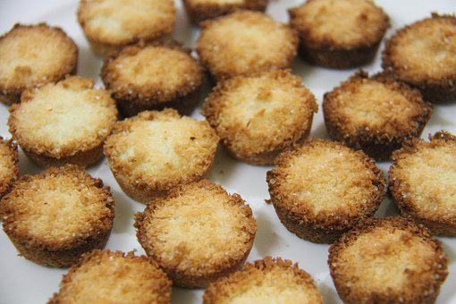 Coconut Cookies, Kitchen, Backing, Sweet, Pastries