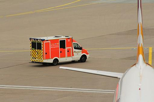 Airport, Fire, Use, Kölnbonn, Fire Engines, Drive
