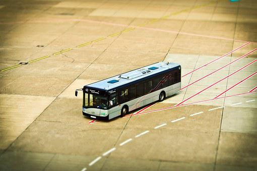 Airport, Prior To, Mark, Miniature Effect, Tilt Shift