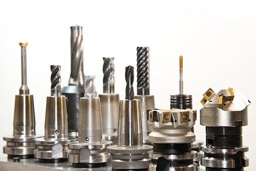 Drill Bit Set, Drill, Milling, Milling Machine