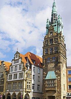 Münster, City Tower, Principal Market, Westfalen