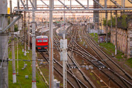 Train, Passenger Train, Railway, Locomotive, Rails