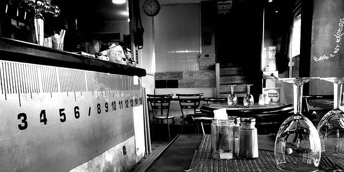 Bar, Restaurant, Coffee, Restaurant Table, Event, Wine