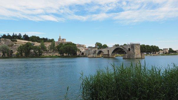 Pont Saint Bénézet, Pont D'avignon, Rhône, Avignon