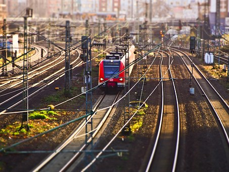 Train, Railway, Seemed, Transport, Track, Rail Traffic