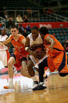 Basketball, Action, Players, Game, Sport, Competition