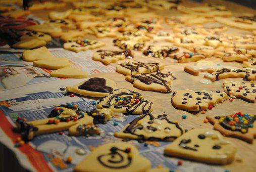 Cookie, Pastries, Sweet, Christmas Cookies, Small Cakes