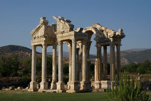 Aphrodisias, Turkey, Temple Of Aphrodite, Ancient