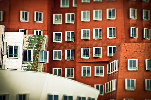Architecture, Window, Facade, Glass, Building, Wall