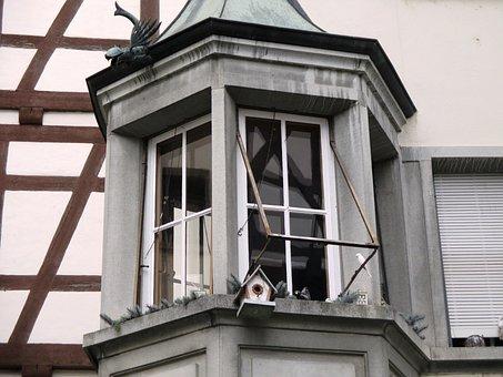 Fachwerkhaus, Bay Window, Old House, Window