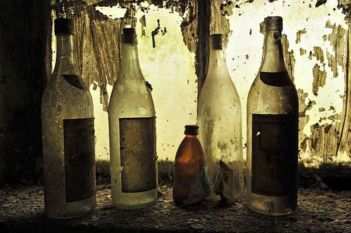 Bottles, Wine, Empty, Old, Wine Bottle, Winery