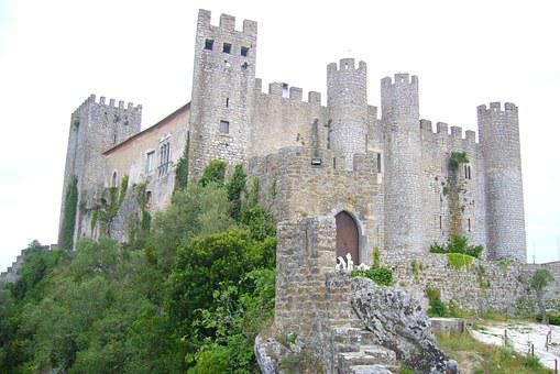 óbidos, Castle, Portugal