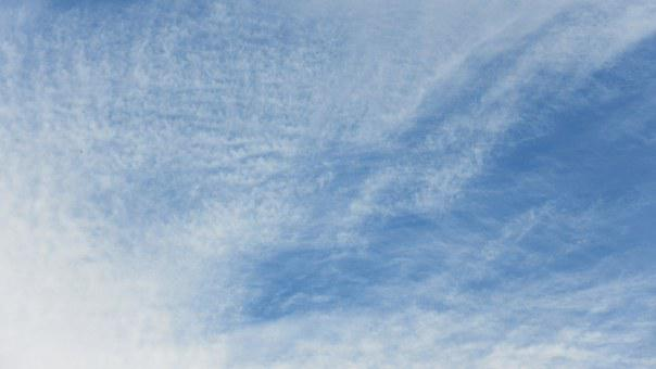 Cirrocummulus, Clouds, Sky, Weather, Pattern