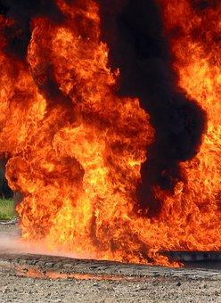 Fire, Flame, Color, Smoke, Heat