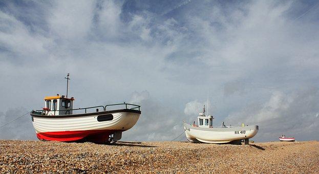 Fishing, Boats, Water, Sea, Ocean, Fisherman, Summer