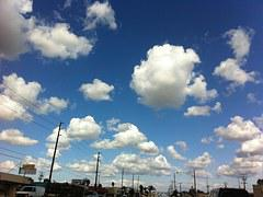 Clouds, Blue, Sky, Bright, Orange County
