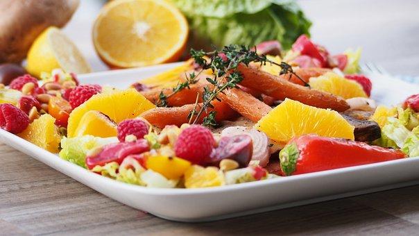 Fruit, Vegetables, Food, Still Life, Tomatoes, Orange