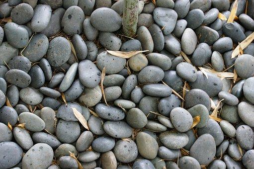 Rocks, Pebbles, Gray, Ground, Pathway, Nature