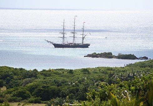 Sailing Vessel, Sea, Sail, Boat, Coast, Vacations