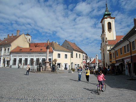 Building, House, Street, Szentendre