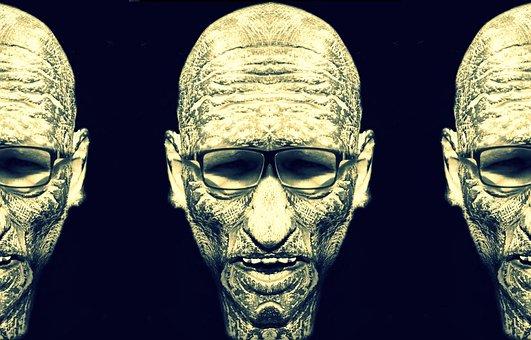 The Head Of The, Terrible, Portrait, Bielsko-biała