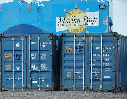 Container, Wall, Resort, Park, Marina