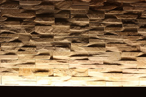 Wall, Background, Indirect Lighting, Structure, Stones