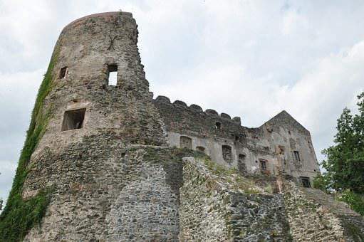 Castle, The Ruins Of The, Monument, Old, Architecture