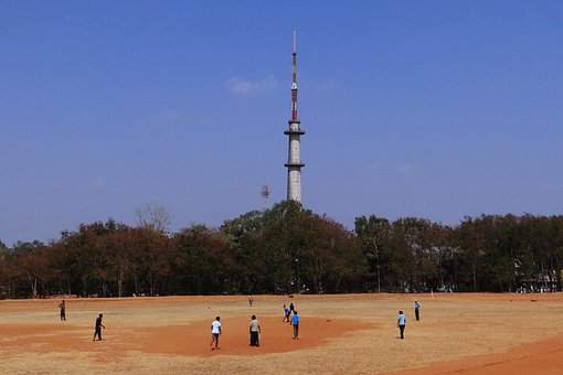 Cricket, Sports, Practice, College Ground, Dharwad