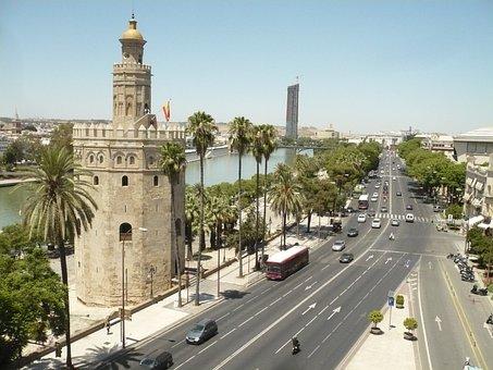Gold Tower, Guadalquivir, Seville