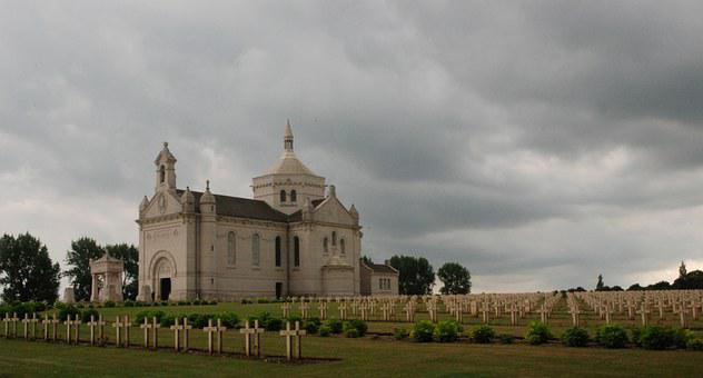 Monument, Cemetery, Heritage, France, War, Nd Lorette